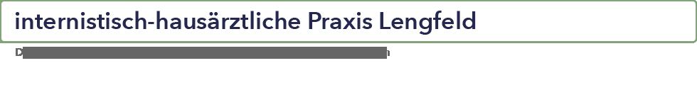 Berufsausübungsgemeinschaft im Ärztehaus Otzberg - internistisch-hausärztliche Gemeinschaftspraxis